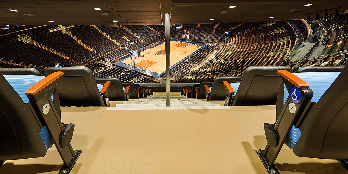 stonhard flooring in madison square garden