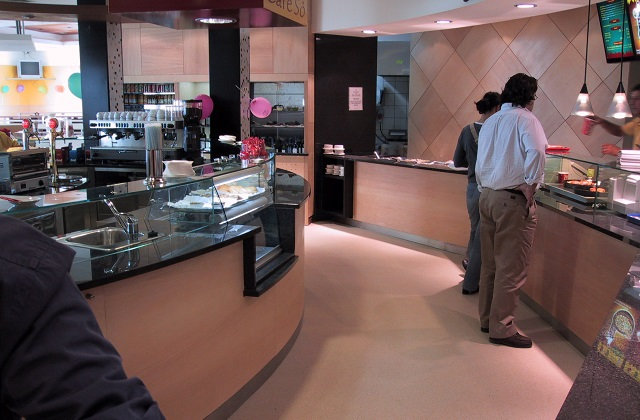 stonblend gsi flooring in food court