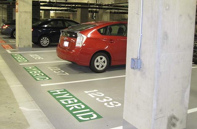stongard tm flooring in parking garage